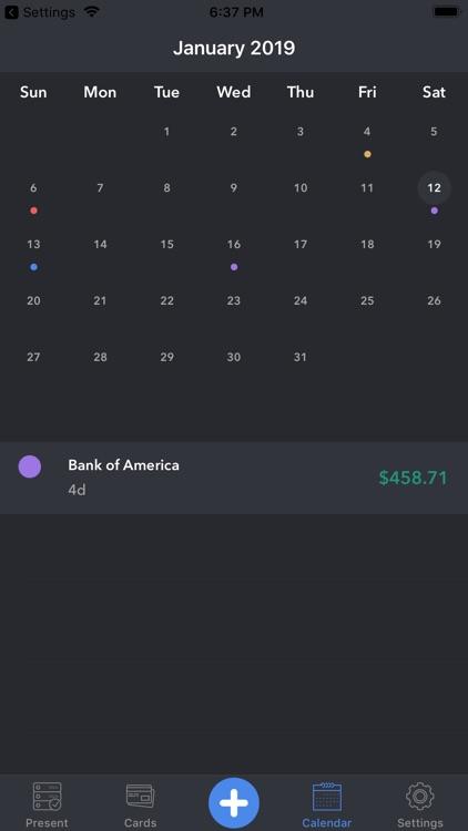 Memento-smart payment reminder screenshot-6