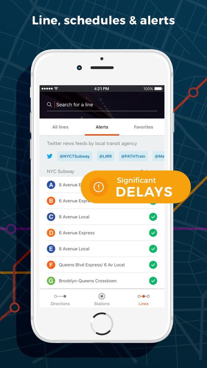 Moovit: Train & Bus Times Screenshot