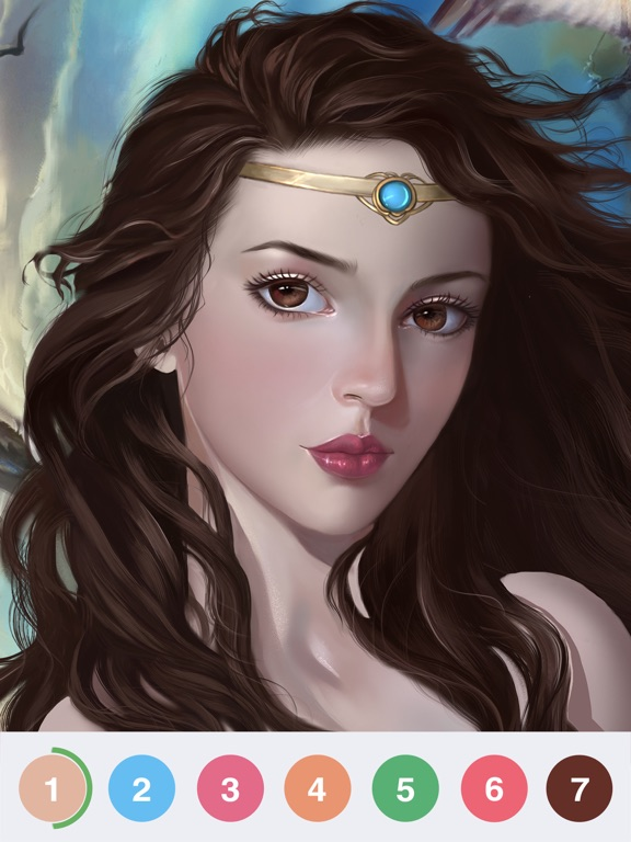 Art Coloring - Color by Number screenshot 10