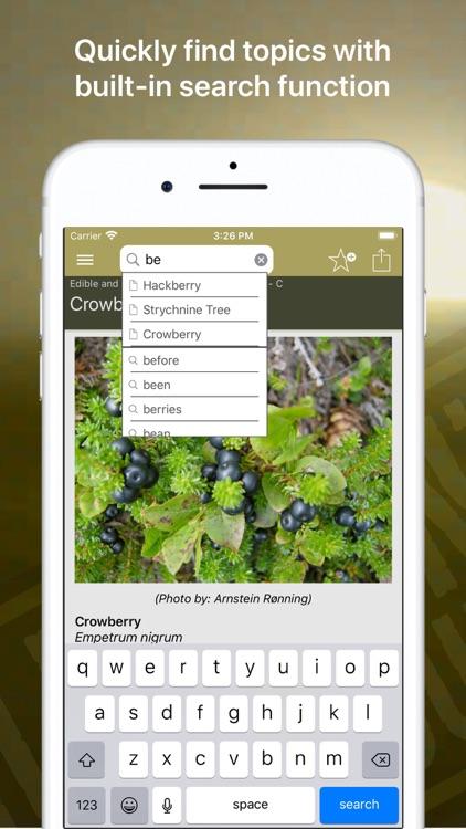 Wild Plant Survival Guide screenshot-6