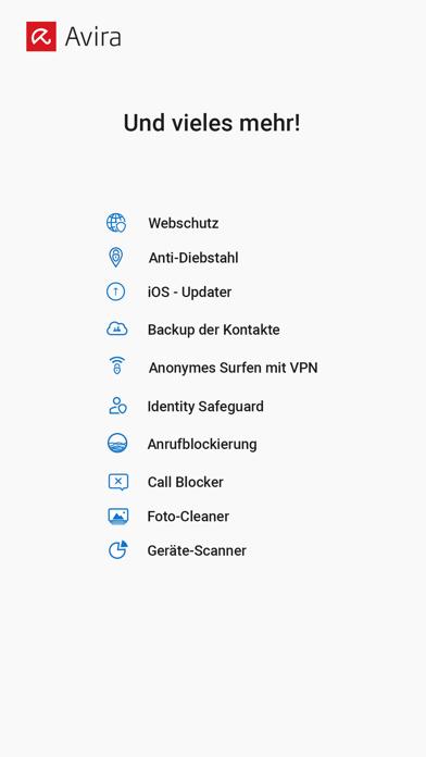 Avira Mobile SecurityScreenshot von 6