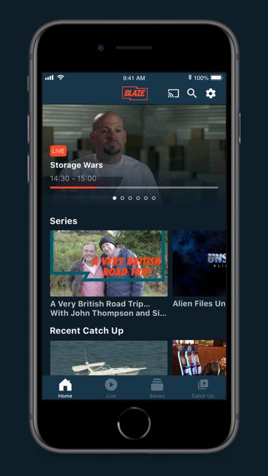 Blaze TV screenshot one