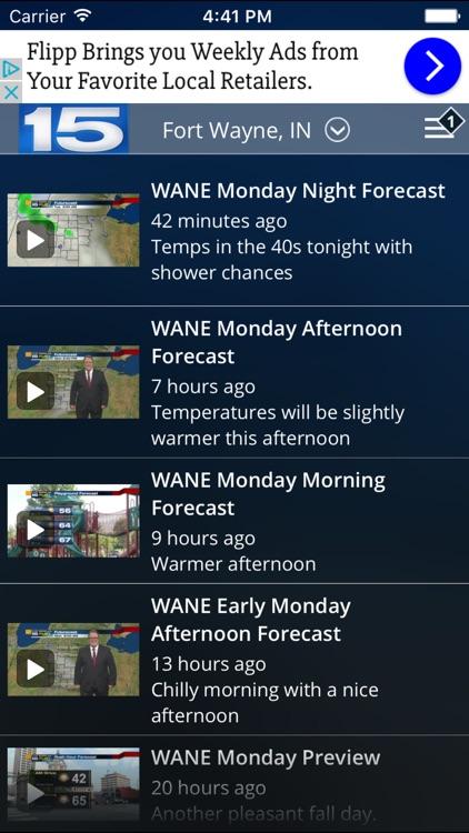 WANE WX screenshot-4
