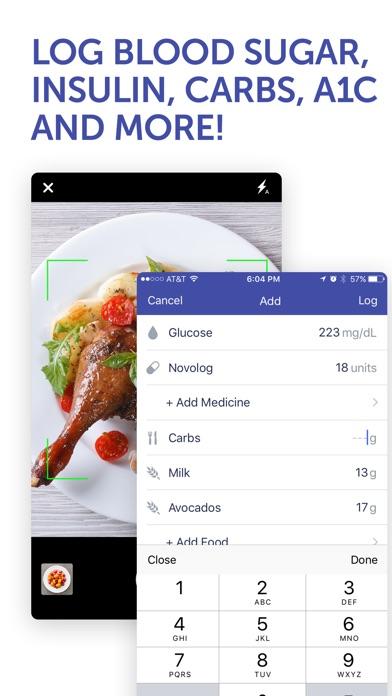 Glucose Buddy Diabetes Tracker screenshot four