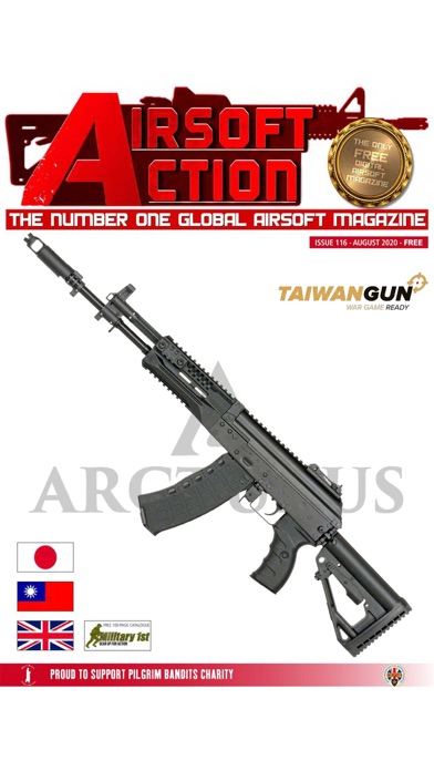 Airsoft Action Magazine Screenshot