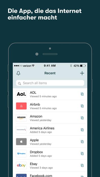 Dashlane – Passwort-ManagerScreenshot von 1