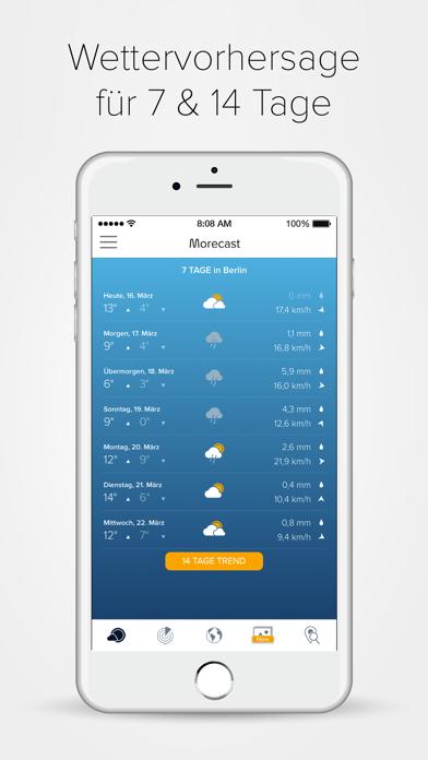 MORECAST Wetter App für PC - Windows 10,8,7 (Deutsch