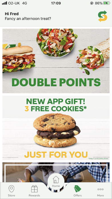 Subway® - Official App screenshot two