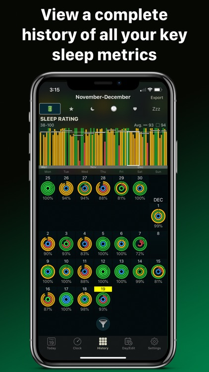AutoSleep Track Sleep on Watch screenshot-9