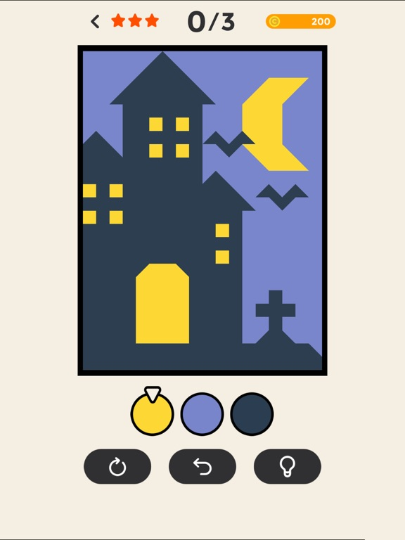 Игра ERASE - coloring puzzle game