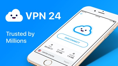 VPN 24: Hotspot VPN for iPhone Screenshot