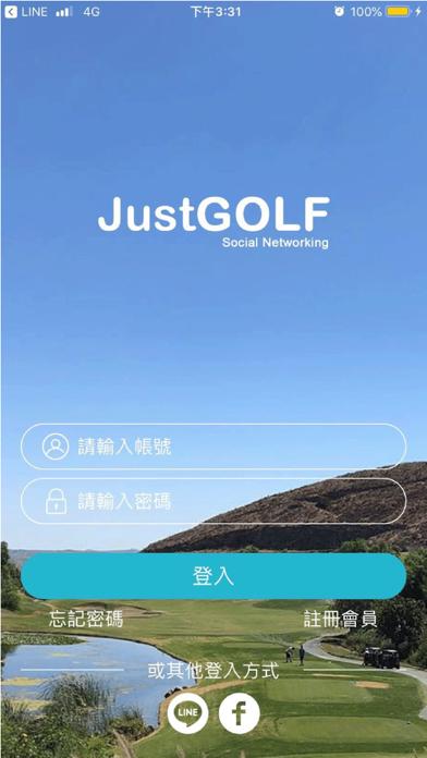 Screenshot for JustGOLF in Qatar App Store
