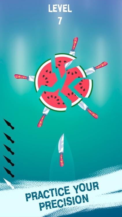 Knife Throw: Flippy Fruits Hit