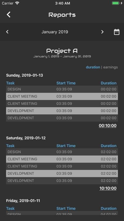 Agile Log - Time Tracker screenshot-6