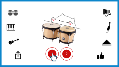 Bongo Cat Musical Instruments app image