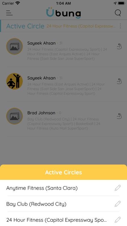Ubung: Gyms & friends screenshot-5