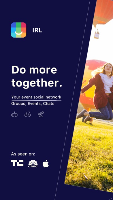 IRL - Event Social Network wiki review and how to guide