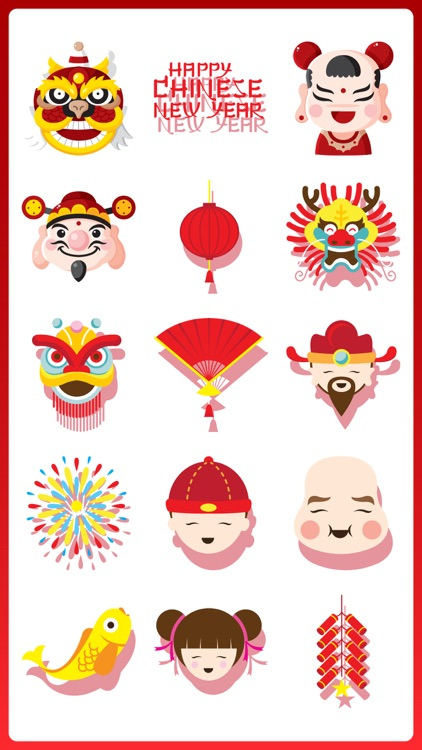 Happy Chinese New Year Sticker