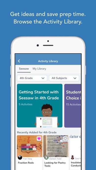 Seesaw: The Learning Journal - AppRecs