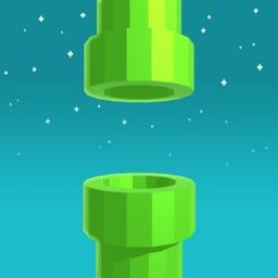 Flappy 3D - Bird's Eye View