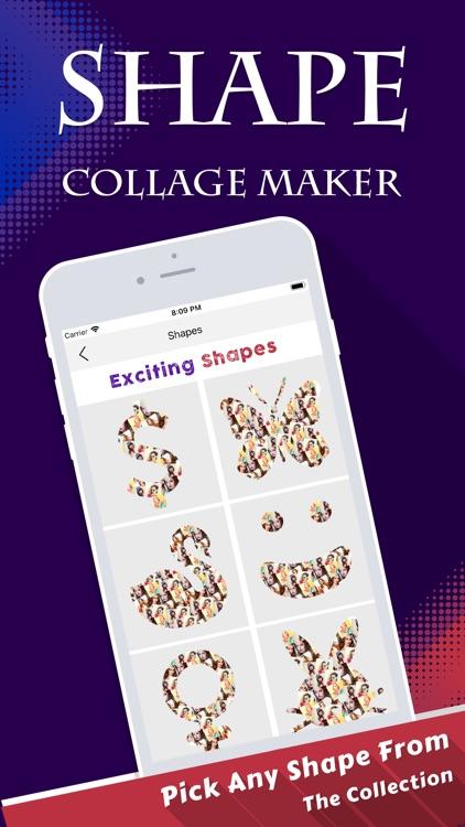 Shape Collage Maker & Editor screenshot-3