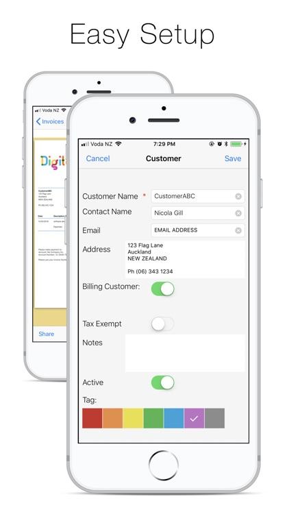 Bee Invoicing Mobile screenshot-3