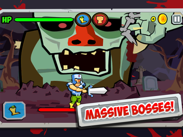 Bloody Epic, game for IOS
