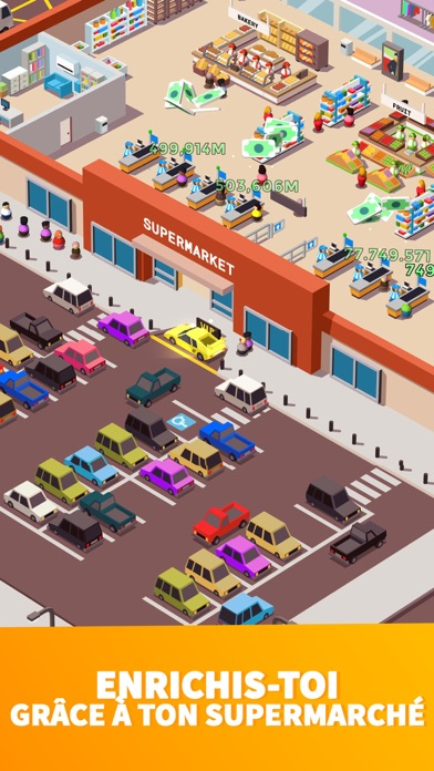 Screenshot for Idle Supermarket Tycoon - Shop in Lebanon App Store