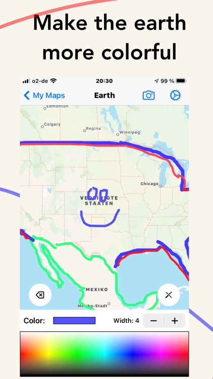 MapDraw: Draw on maps screenshot-3
