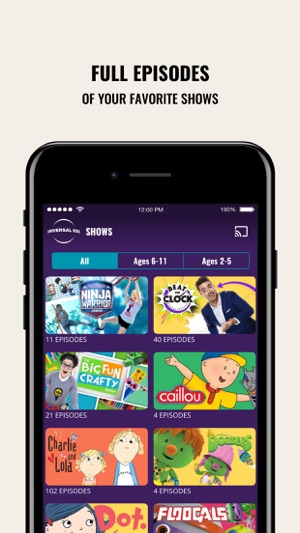 Universal Kids on the App Store