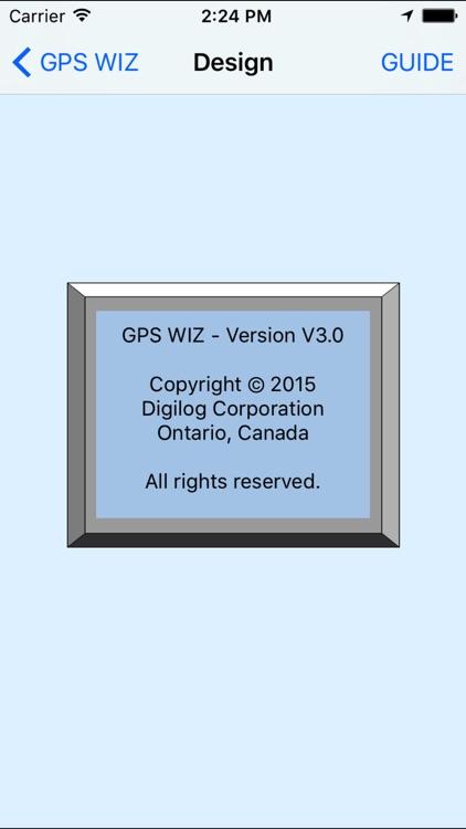 GPS WIZ screenshot-6