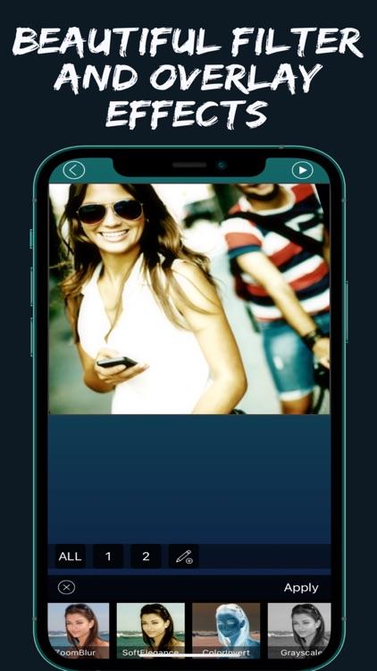 One Video Editor Text Speed FX screenshot-3