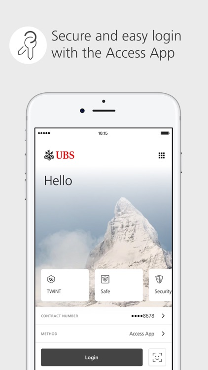 UBS Mobile Banking screenshot-0