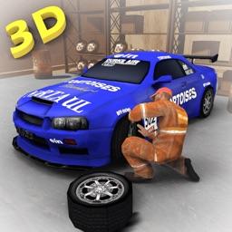 Car Mechanic Workshop 3D