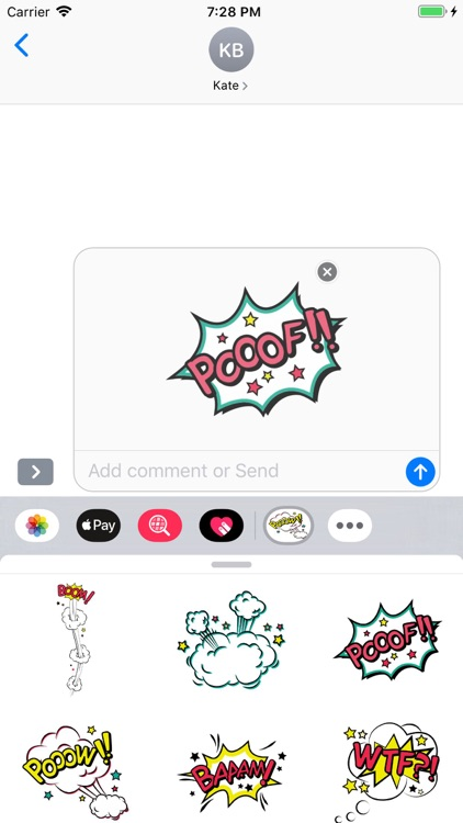 Simply Texts Stickers Pack screenshot-5
