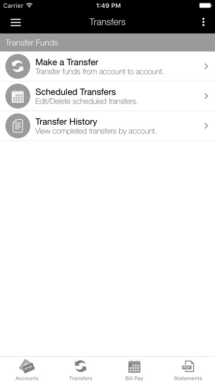 Wells Bank Mobile Banking screenshot-3