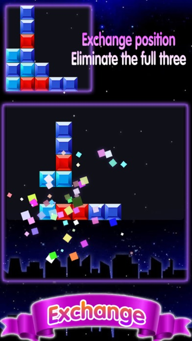 block puzzle elimination game screenshot three