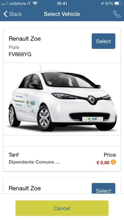 e-vai car sharing