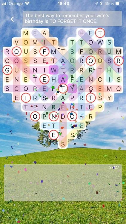 Word Search FUN screenshot-4