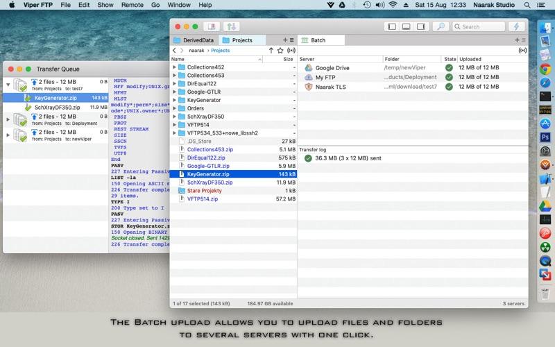 Viper FTP Screenshots