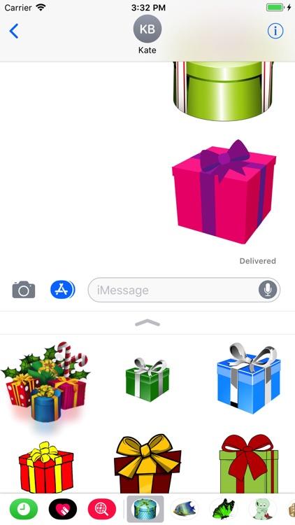Presents Stickers screenshot-3