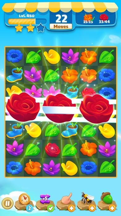 Flower Legends Match 3 screenshot 3