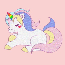 Rainbow Pony Stickers