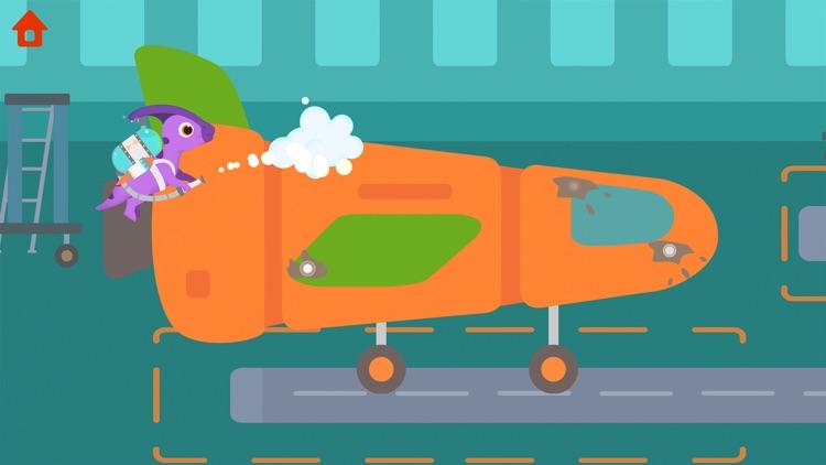 Dinosaur Airport - Kids Games screenshot-0