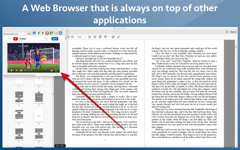 Update: Always on Top Browser  (Productivity)