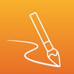 Paint -Write like paper