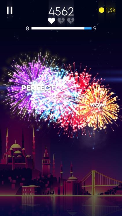 Flashy Fireworks: Rocket Shoot screenshot-3