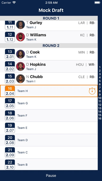 Fantasy Football Cheatsheet screenshot-3