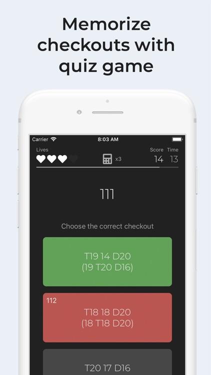 Darts Checkout screenshot-4