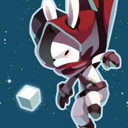 Rabbit in the moon